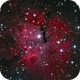 Gum15, A faint HII region in the southern constellation Vela,                                TWFowler