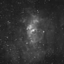 Bubble Nebula,                                Lars Frogner