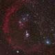 Barnard's Loop M42 Horsehead Orion nebula,                                ctron