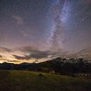 Milky way from Colle di Tenda (Cn),                                Paolo Demaria
