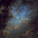 Eagle Nebula in SHO,                                Chris Massa