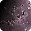 Archimedes, Timocharis, Huygens mounts and Erasthotenes,                                Karlov