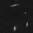 Le trio du Lion - M65, M66 & NGC3628,                                grizli21