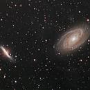 M81 & M82 Bode's & Cigar Galaxy,                                Carl Newberg