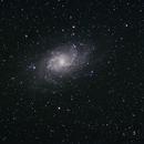 Galaxie du Triangle M33,                                Aurélien