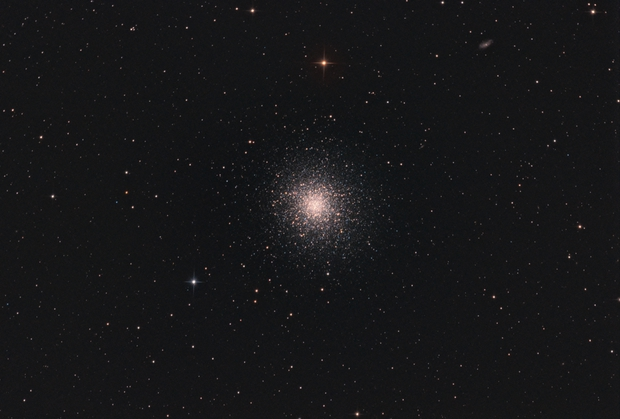 M13 The Great Cluster in Hercules,                                Christiaan Berger