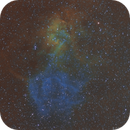 SH2-132 Lion Nebeula Hubble Palette,                                apophis