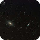 M81 and M82 Bode and Cigar's Galaxy,                                BradHvisuals