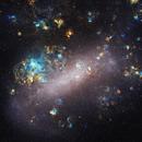 LMC in narrowband,                                astrofalls