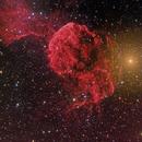 Jellyfish Nebula in RGBH,                                David McClain