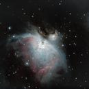 M42 Orion's nebula,                                ganlhi