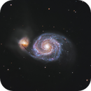 M51: Whirlpool Galaxy,                                Trevor Jones