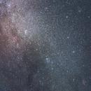 Cassiopeia & Pleiades @ 25mm,                                Vencislav Krumov