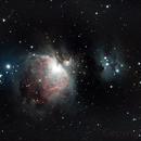 M42 - 18 minutes integration,                                JanD