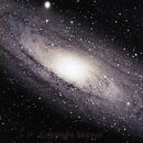 M31 - Andromeda Galaxy Core,                                David N Kidd