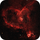 Heart Nebula Optolong L-eXtreme on moonlit nights,                                Rob Calfee