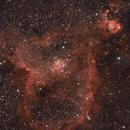 Heart Nebula in Cassiopeia,                                Keith Lisk