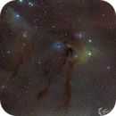 Rho Ophiuchi and the Blue Horsehead,                                Mark Forteath