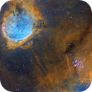 Mistral Nebula  & Gems Cluster in SHO,                                Ignacio Diaz Bobillo