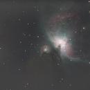 M 43, NGC 1982, NGC 1977, M 42, Great Nebula in Orion, NGC 1976, NGC 1975, NGC 1973, The star 45Ori, The star θ2Ori, The star θ1,                                Axel Debieu-Potel