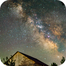 The Milky Way and airglow,                                Andrea Girones