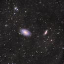 M81 - Bode's Galaxy & M82 - Cigar Galaxy,                                robo9981