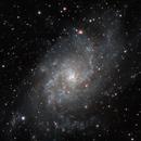 M33 close up,                                Oscar Meca