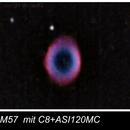 M57 ASI120MC Test,                                Michael Geissel