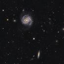 M 100, NGC 4312 et al  -   Galaxies in Com,                                GJL