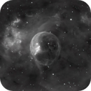 Bubble Nebula - NGC 7635 in HA,                                Jim Matzger