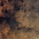 Pipe Nebula  and Surroundings,                                flyingairedale