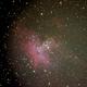 m16, the eagle nebula,                                palaback