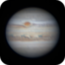Jupiter with GRS - 6 August 2020,                                Geof Lewis