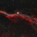 Western Veil Nebula,                                eholland