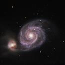 Messier 51,                                Adrie Suijkerbuijk