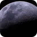 Six Days Old Moon in Color,                                astropical