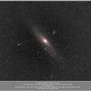 Messier 31, Andromeda galaxy, 20190822,                                Geert Vandenbulcke