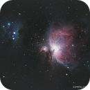Orion and Running Man Nebulae,                                Carlos Taylor
