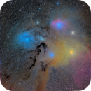 Rho Ophiuchi with the Very Small Telescope,                                Russ Carpenter
