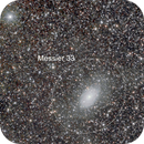 A piece of Local Group (M33, And II, Donatiello I and NGC 404),                                Giuseppe Donatiello