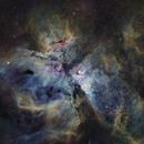 NGC 3372 - Narrowband,                                George Varouhakis