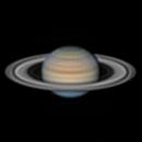 """Saturn 2021-06-30 18,3"""" arcsec,                                Lucca Schwingel Viola"""