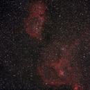 Heart and Soul Nebula,                                Themos Tsikas