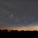 Milkyway above  Merfelder Bruch,                                Wolfgang Zimmermann