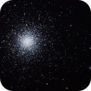 Globular Cluster M3 - for 3 hours,                                Frank Kane