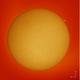 The Sun in H-alpha, ZWO AS174MM, 2020614.,                                Geert Vandenbulcke