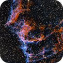 NGC 6995, Portion of Veil Nebula,                                w4sm