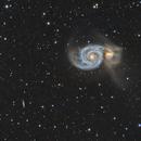M51 The Whirlpool Galaxy,                                John Bozeman