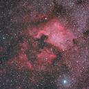 Nebulosa Nord America e Nebulosa Pellicano,                                Gianni Carcano