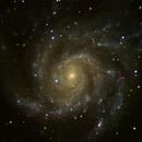 M101 Pinwheel Galaxy,                                Hugo52